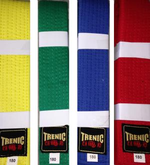 Coloured Belts (10 pack)